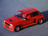 Pictures of Renault 5 Turbo 1980–82