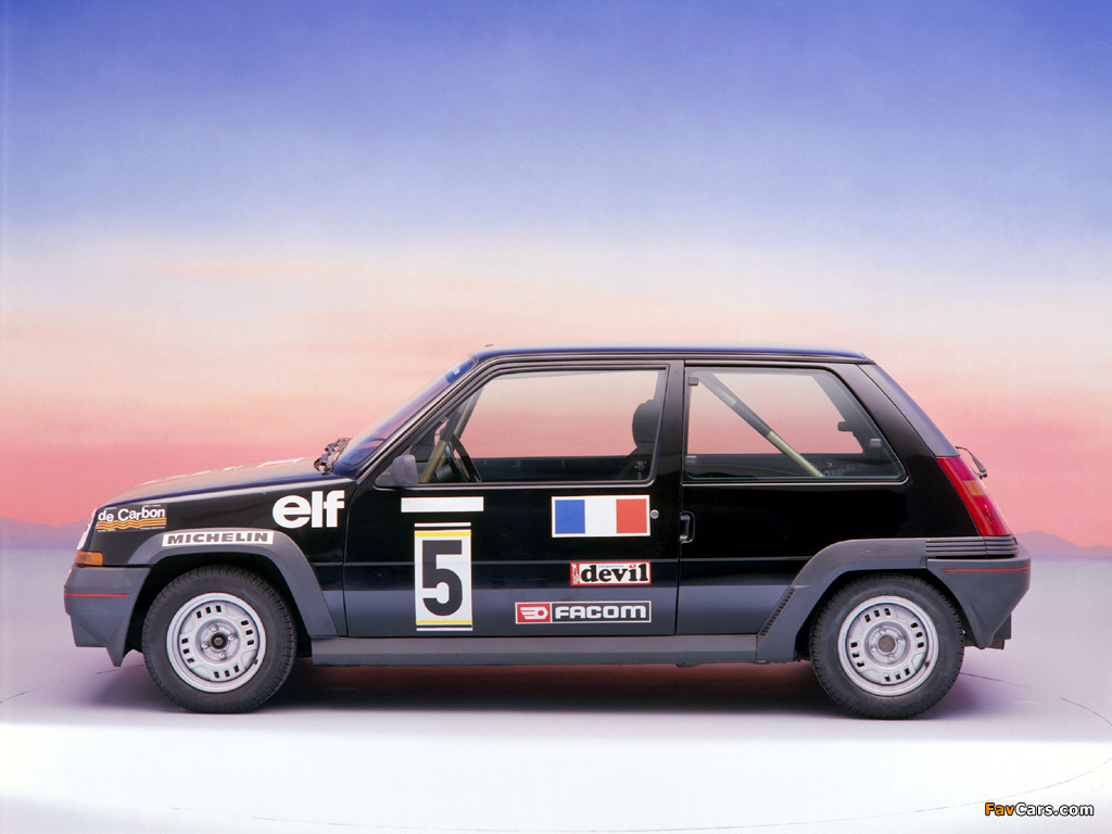 Pictures of Renault 5 (1024 x 768)