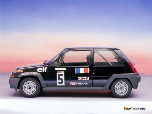 Pictures of Renault 5 (640 x 480)