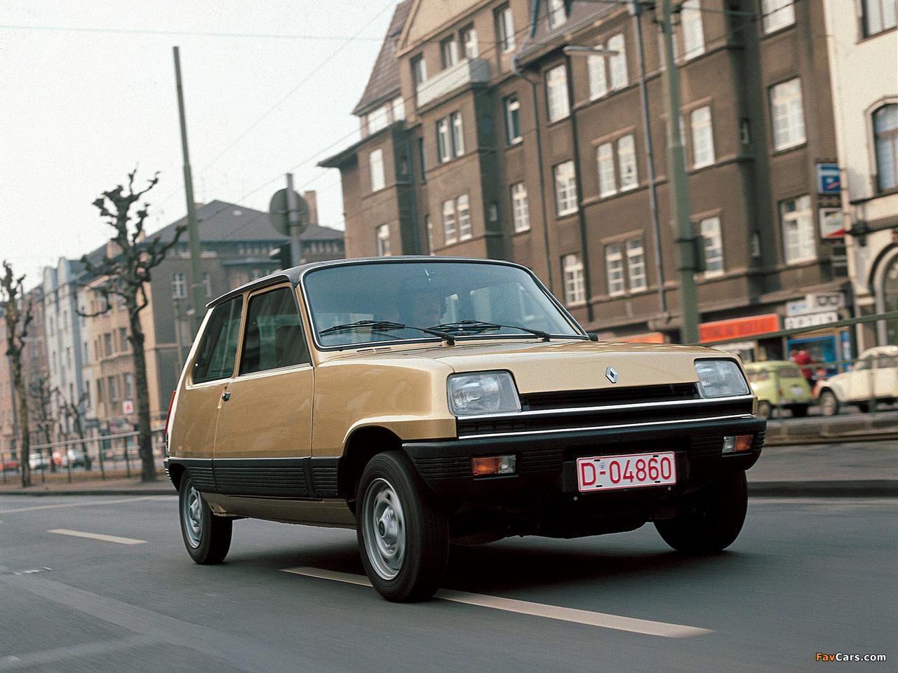 Renault 5 1972–85 photos (1280 x 960)
