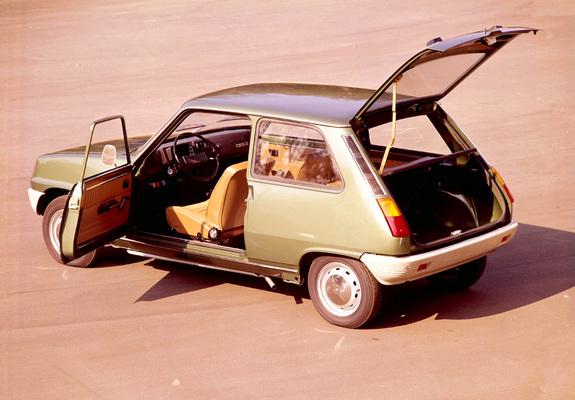 Renault 5 Rouge 1972 /à 1985 Garage Plaque d/écoration Relief 30 x 20 cm