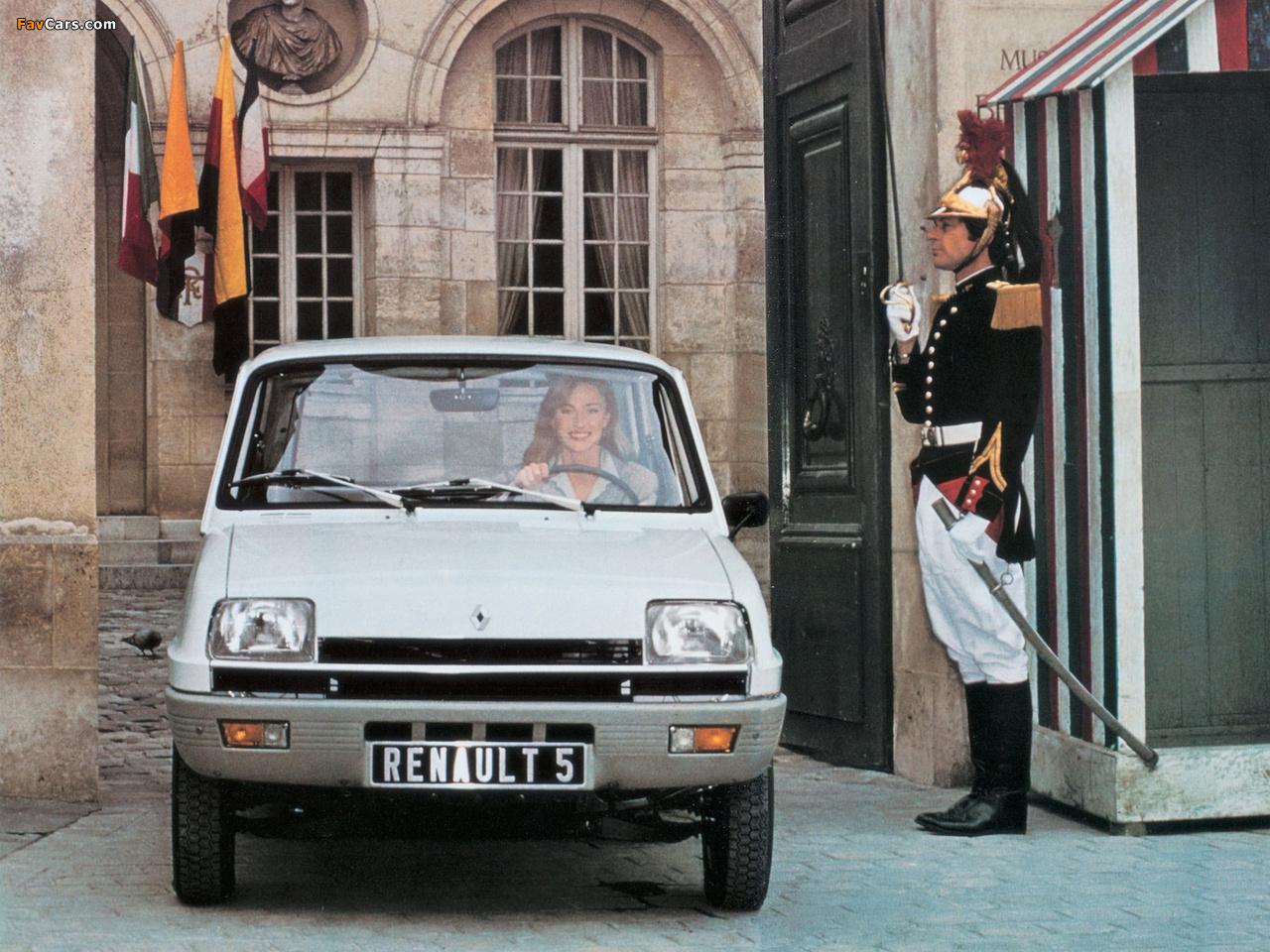 Renault 5 1972–85 wallpapers (1280 x 960)