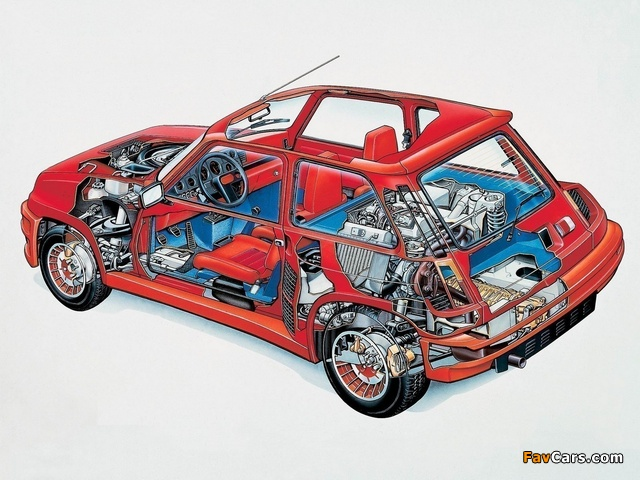 Renault 5 Turbo 1980–82 images (640 x 480)