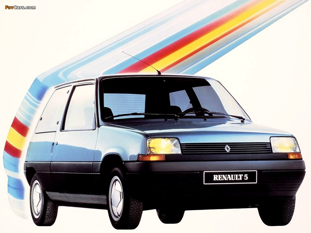 Renault 5 3-door 1985–96 photos (1024 x 768)