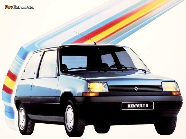 Renault 5 3-door 1985–96 photos (640 x 480)
