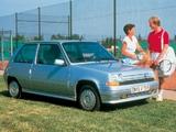 Renault 5 GTX 1987–91 pictures