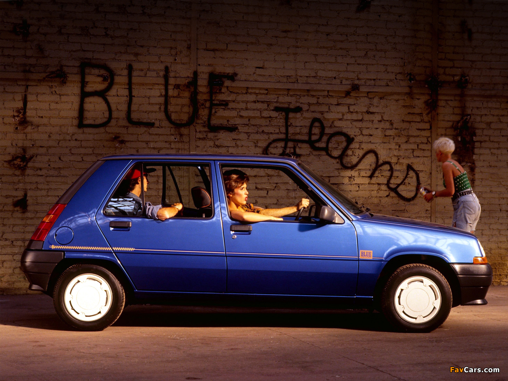 Renault 5 Blue Jeans 1989 pictures (1024 x 768)