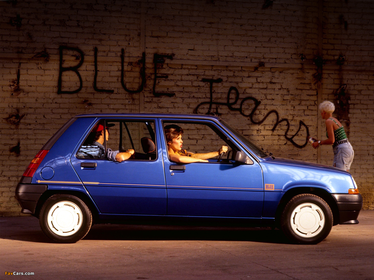Renault 5 Blue Jeans 1989 pictures (1280 x 960)