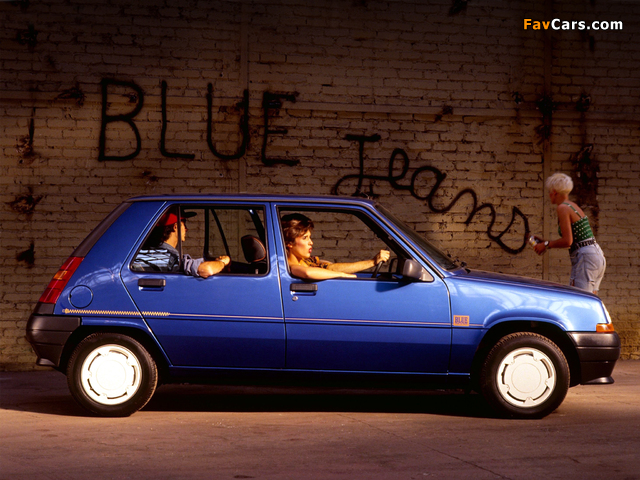 Renault 5 Blue Jeans 1989 pictures (640 x 480)