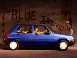 Renault 5 Blue Jeans 1989 pictures