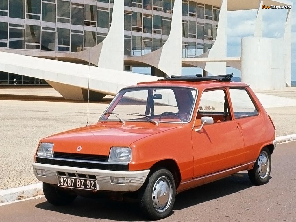 Renault 5 1972–85 wallpapers (1024 x 768)