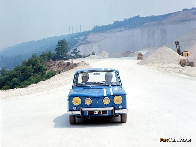 Pictures of Renault 8 Gordini 1964–70 (640 x 480)
