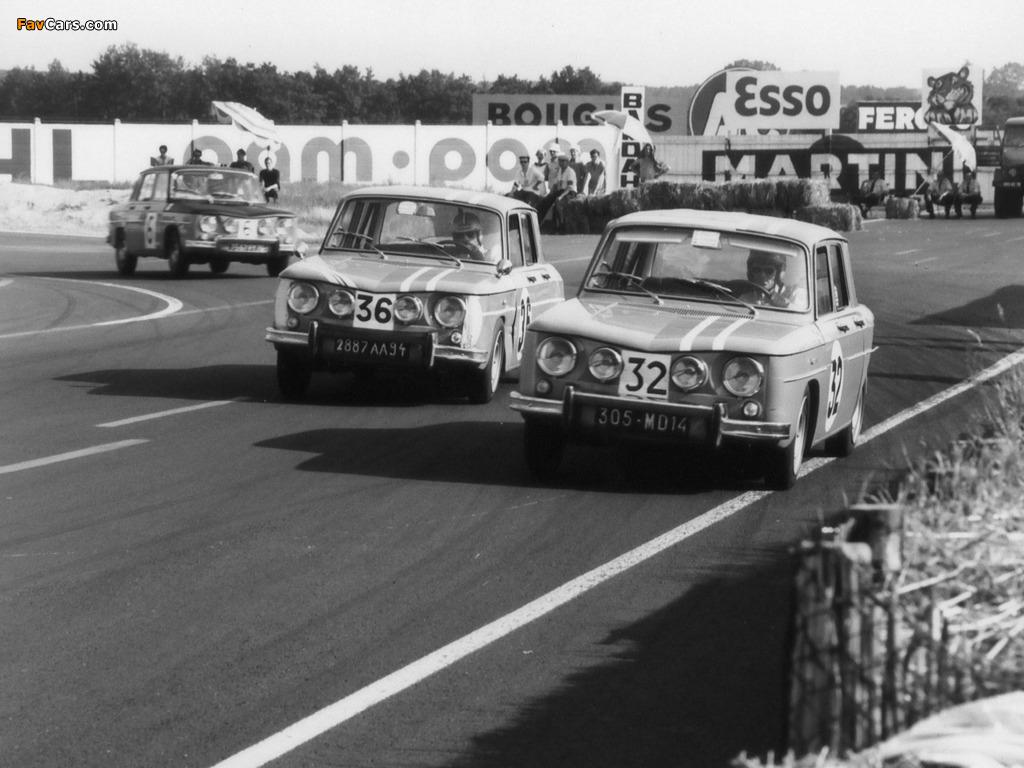 Renault 8 Gordini 1964–70 photos (1024 x 768)