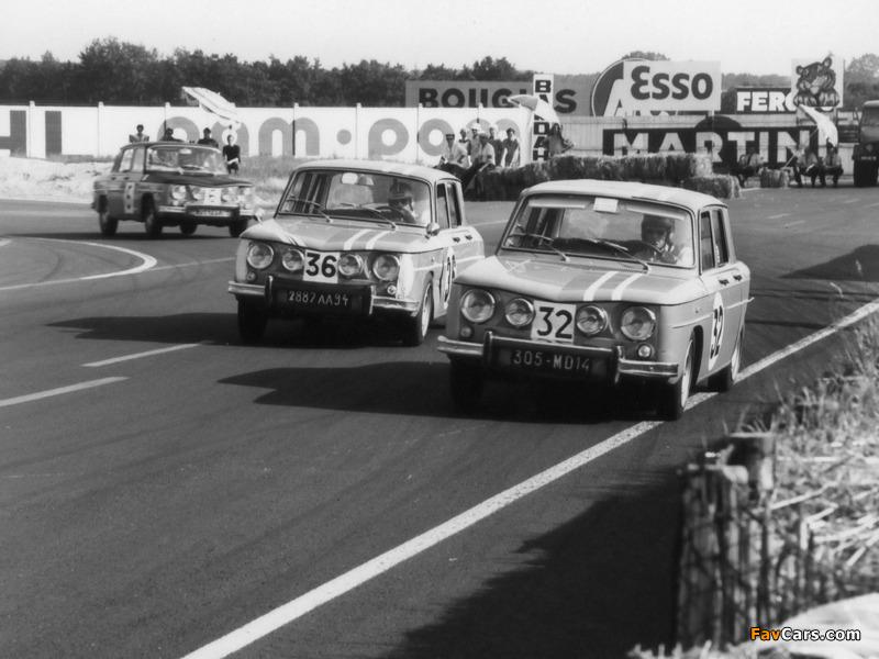 Renault 8 Gordini 1964–70 photos (800 x 600)
