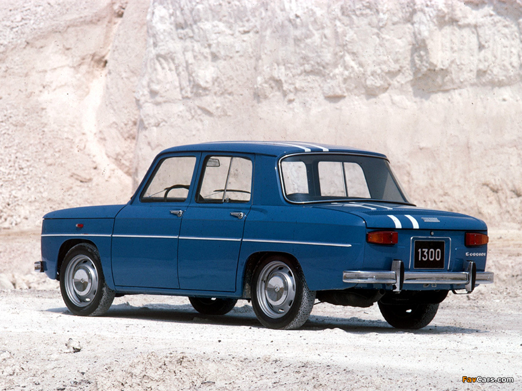 Renault 8 Gordini 1964–70 photos (1024 x 768)