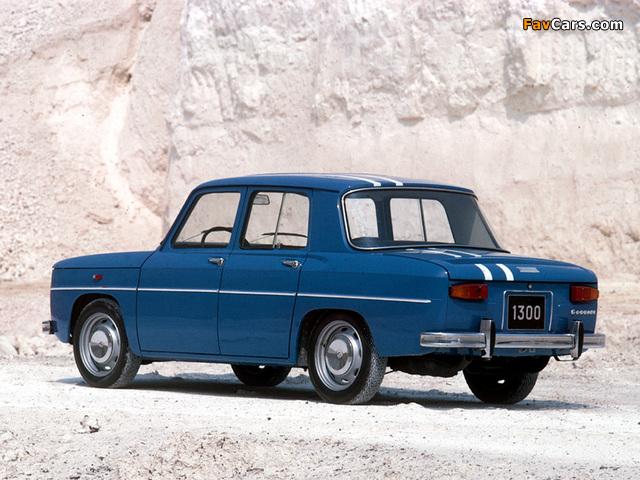Renault 8 Gordini 1964–70 photos (640 x 480)