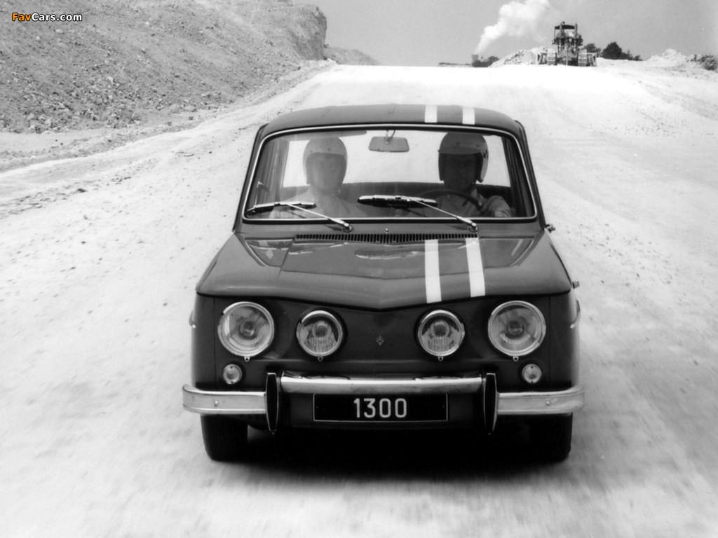 Renault 8 Gordini 1964–70 pictures (1024 x 768)