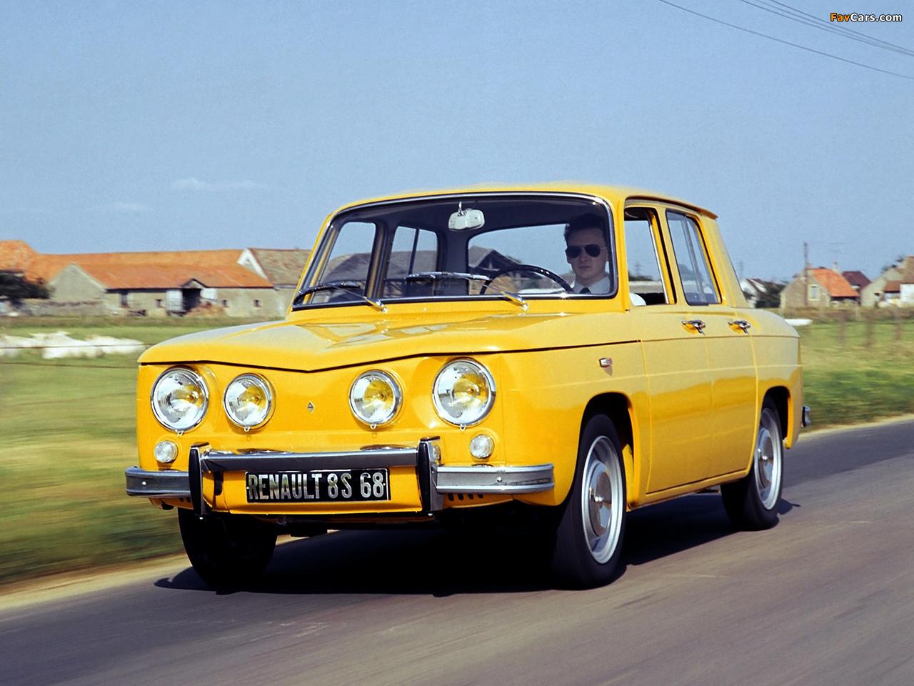 Renault 8 S 1969–71 wallpapers (1280 x 960)