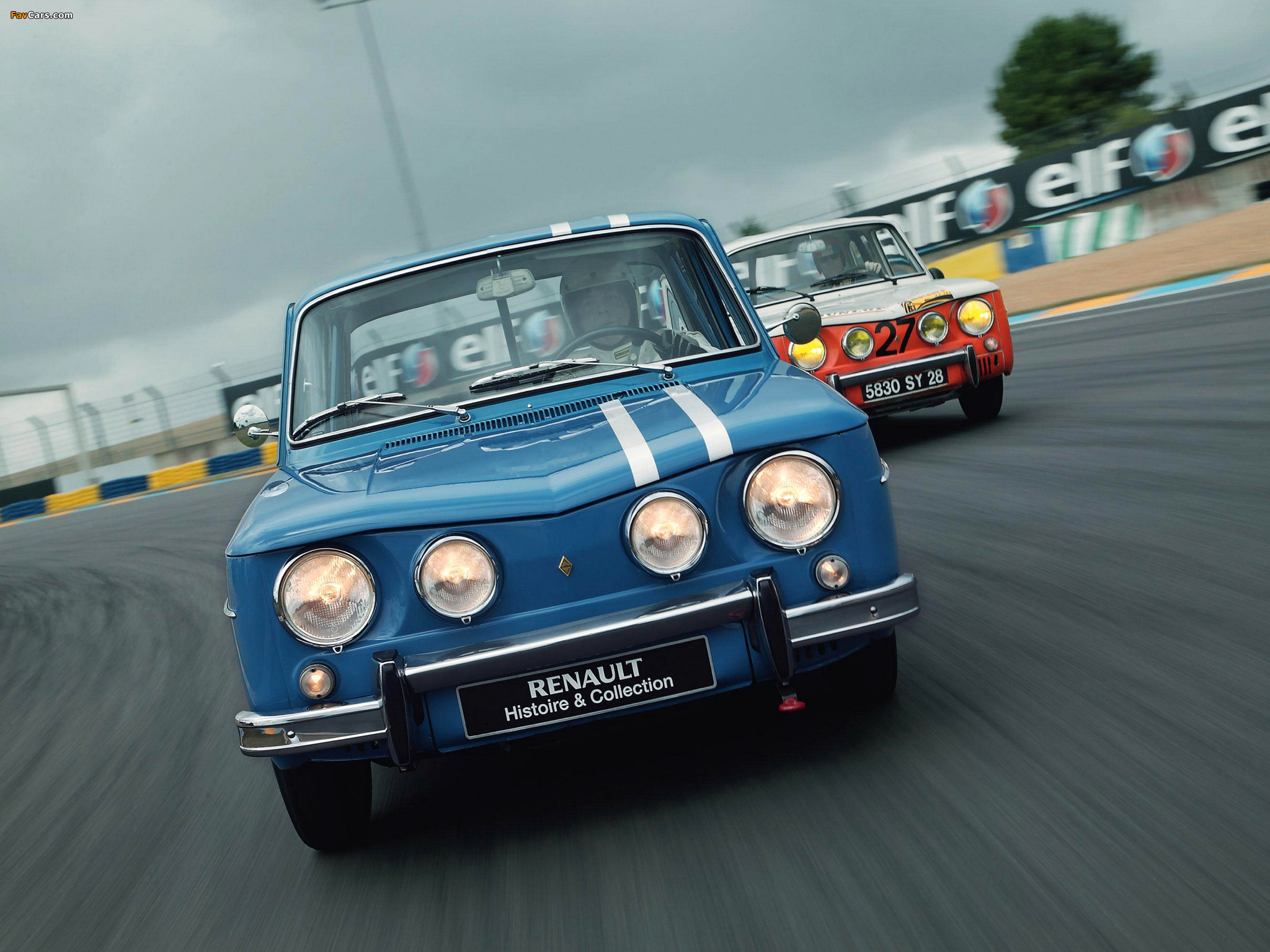 Renault 8 Gordini 1964–70 wallpapers (2048 x 1536)