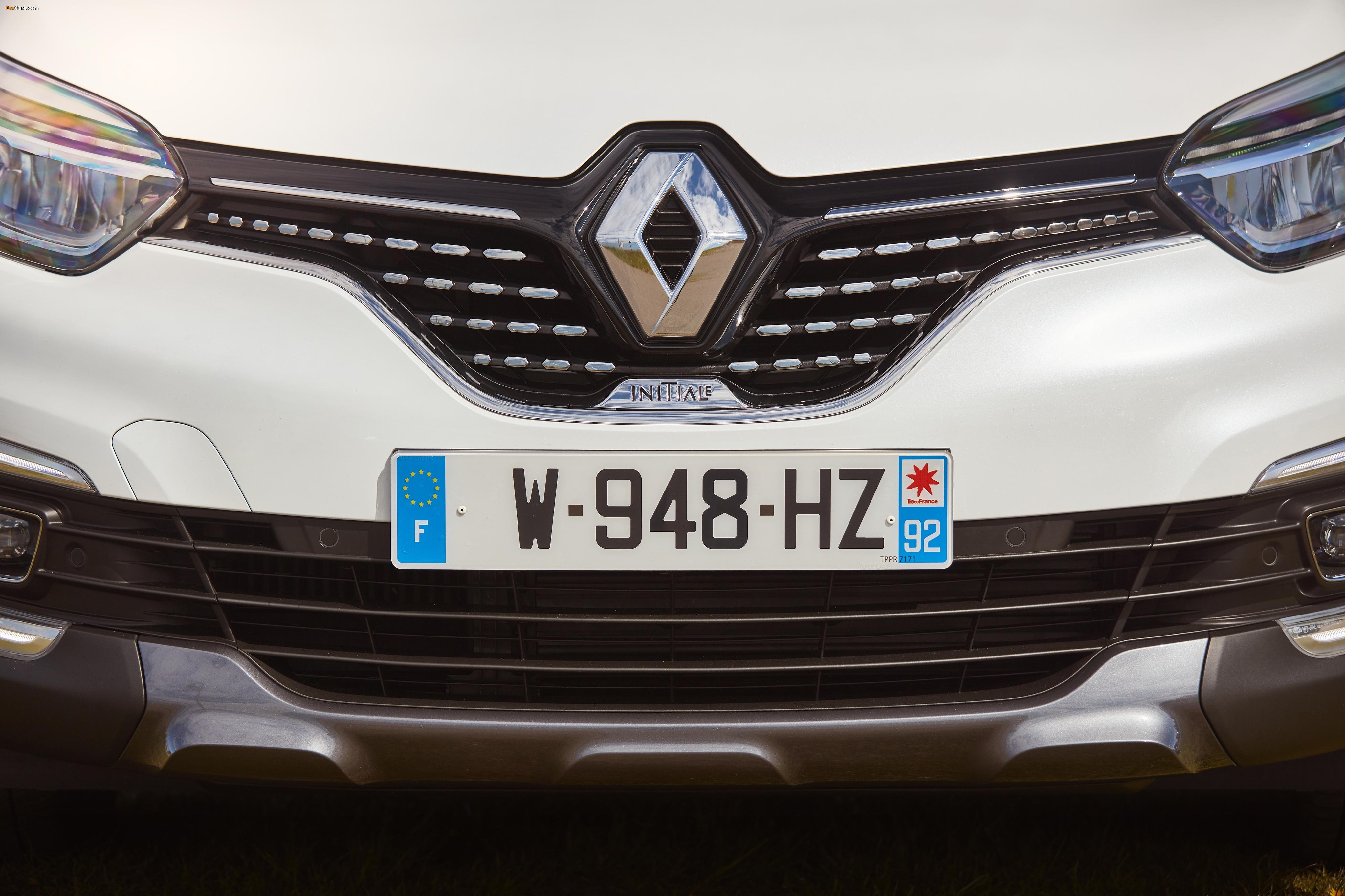 Renault Captur Initiale Paris 2017 wallpapers (4096 x 2731)