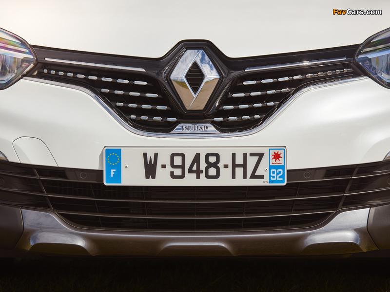 Renault Captur Initiale Paris 2017 wallpapers (800 x 600)