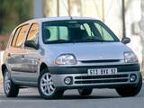 Images of Renault Clio 5-door 1998–2001
