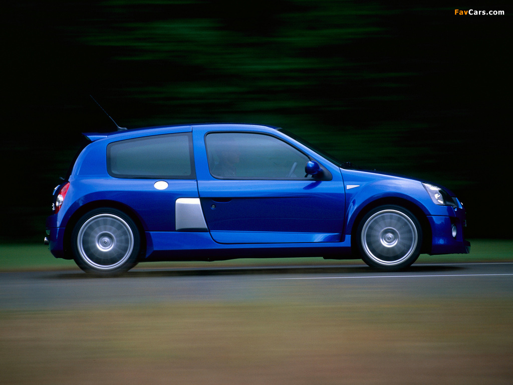 Images of Renault Clio V6 Sport 2003–04 (1024 x 768)