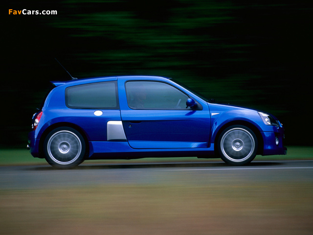 Images of Renault Clio V6 Sport 2003–04 (640 x 480)