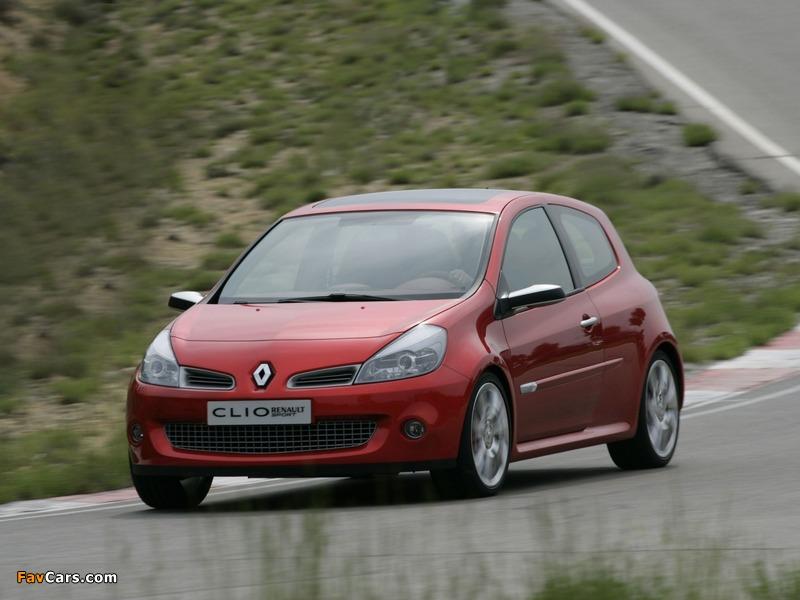Images of Renault Clio Sport Concept 2005 (800 x 600)