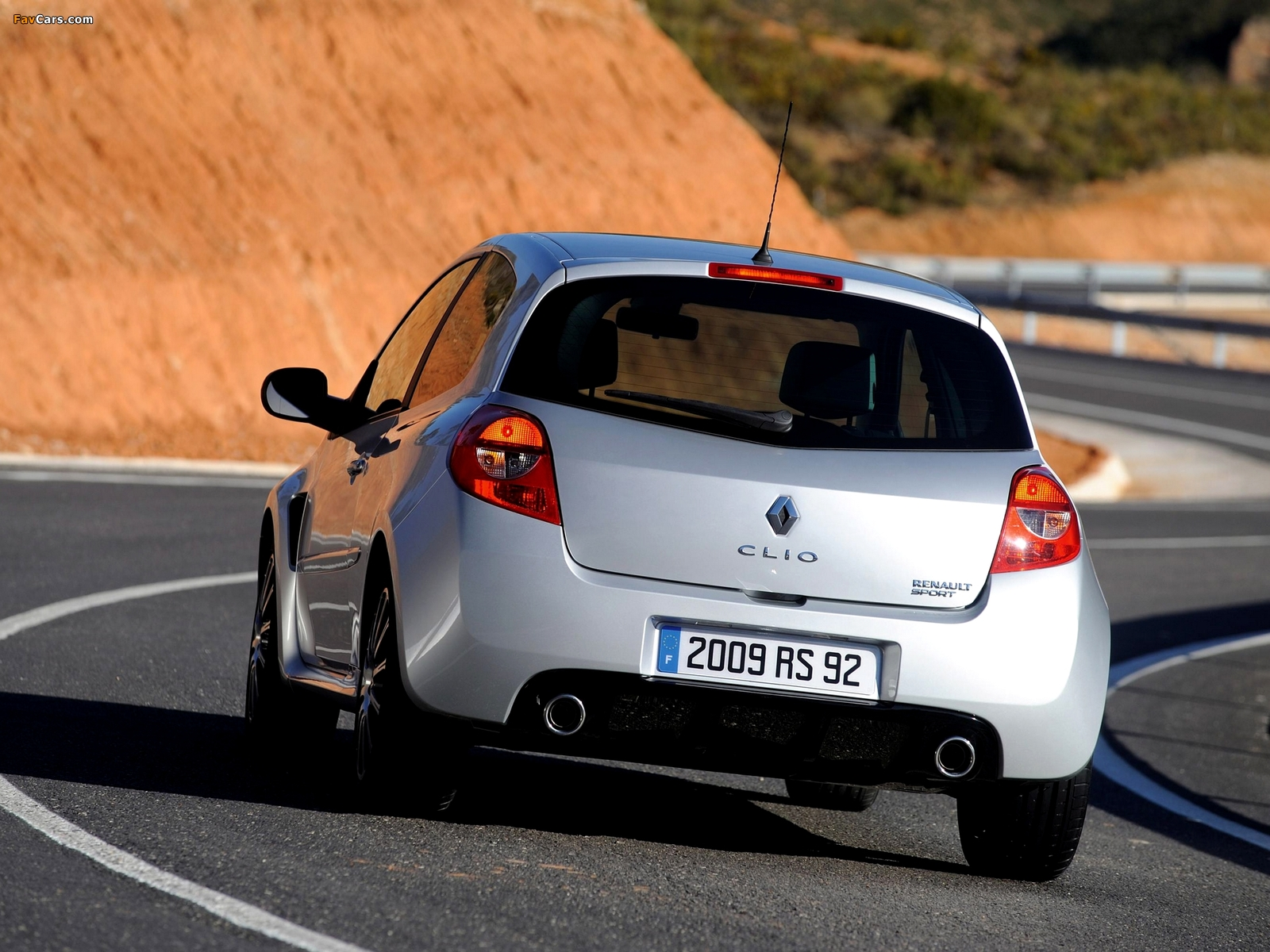 Images of Renault Clio RS 2006–09 (1600 x 1200)