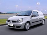 Images of Renault Clio Campus Van UK-spec 2006–09
