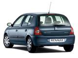Images of Renault Clio Campus 5-door 2006–09