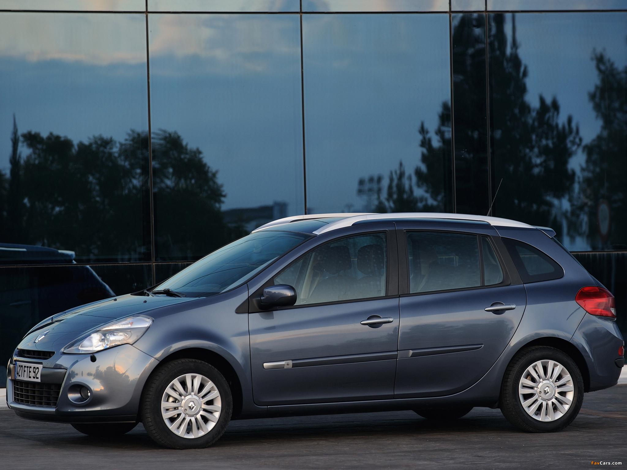 Images of Renault Clio Grandtour 2009–12 (2048 x 1536)
