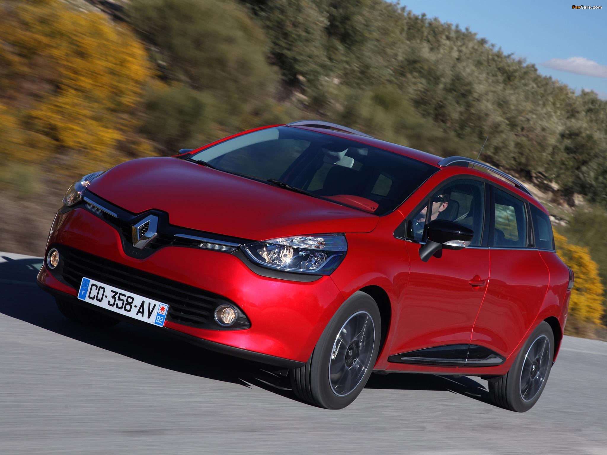 Images of Renault Clio Estate 2013 (2048 x 1536)