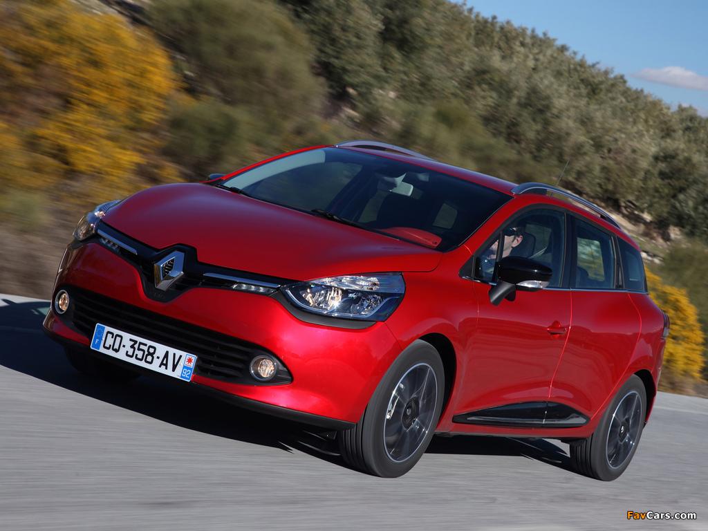 Images of Renault Clio Estate 2013 (1024 x 768)