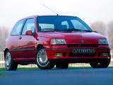Photos of Renault Clio 16S 1993–97