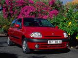 Photos of Renault Clio 3-door 1998–2001
