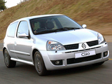 Photos of Renault Clio Sport ZA-spec 2002–05