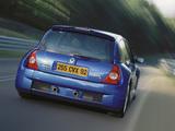 Photos of Renault Clio V6 Sport 2003–04