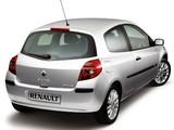 Photos of Renault Clio 3-door 2005–09