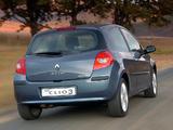 Photos of Renault Clio 3-door ZA-spec 2006–09