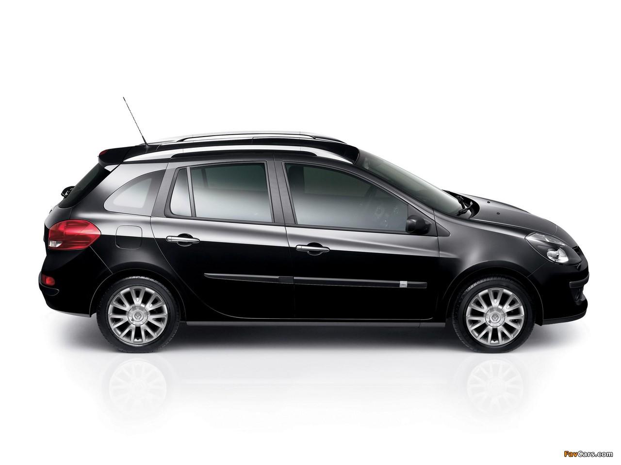 Photos of Renault Clio Sport Tourer 2008–09 (1280 x 960)