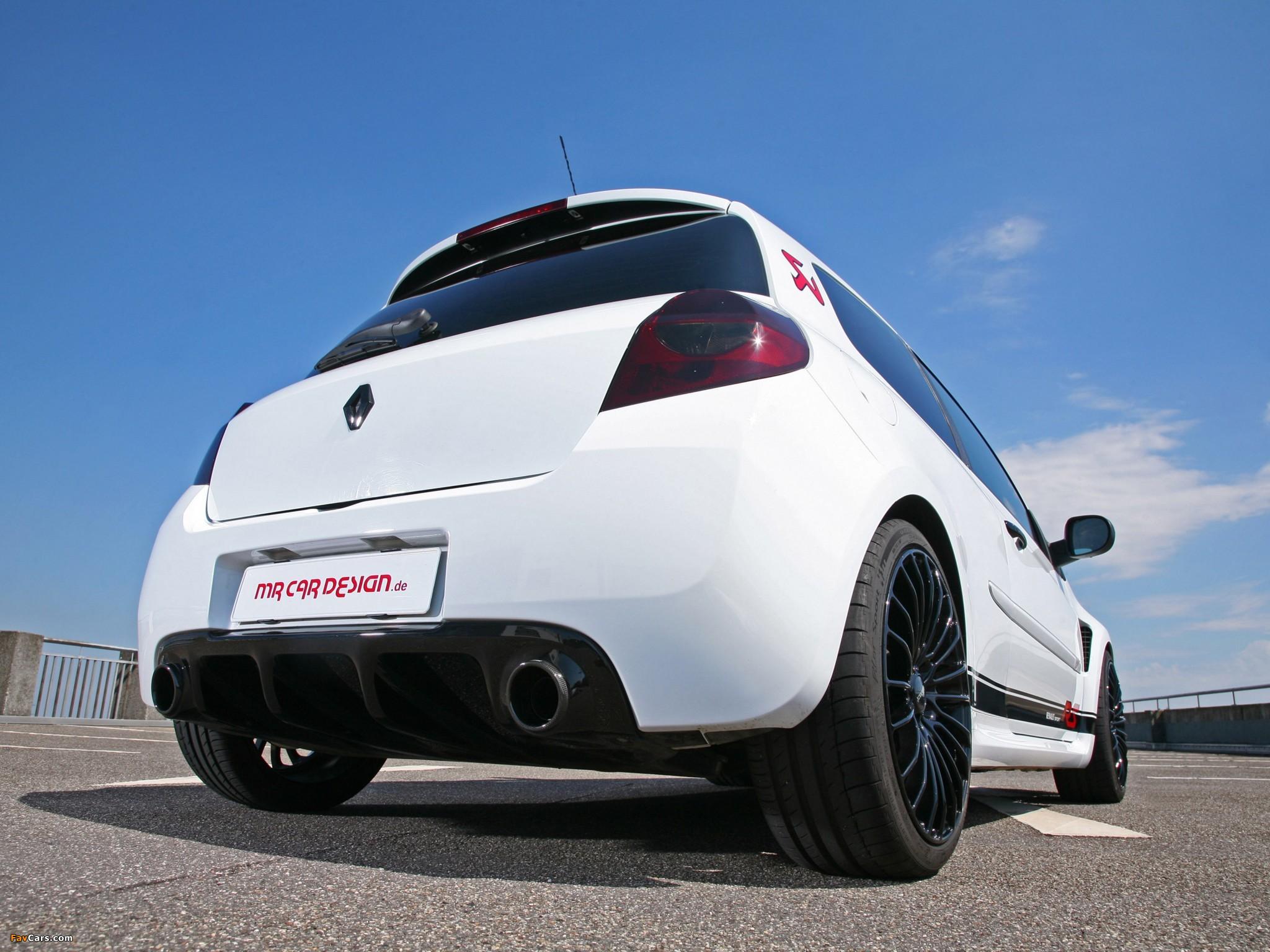 Photos of MR Car Design Renault Clio RS 2011 (2048 x 1536)
