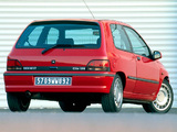 Pictures of Renault Clio 16S 1993–97