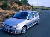 Pictures of Renault Clio 3-door 1998–2001