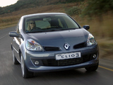 Pictures of Renault Clio 3-door ZA-spec 2006–09