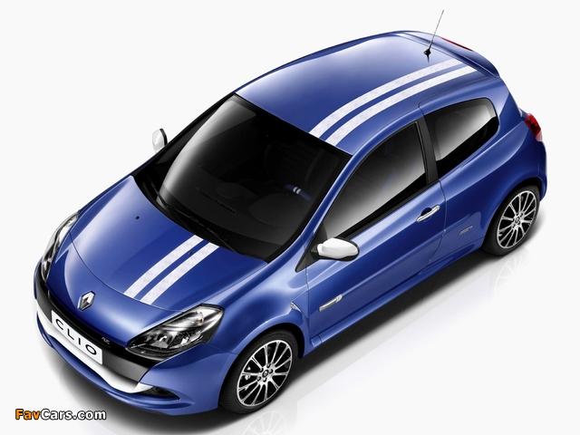 Pictures of Renault Clio R.S. Gordini 2010–12 (640 x 480)