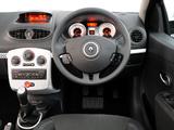 Pictures of Renault Clio S 5-door ZA-spec 2010–12