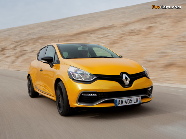 Pictures of Renault Clio R.S. 200 2013 (640 x 480)