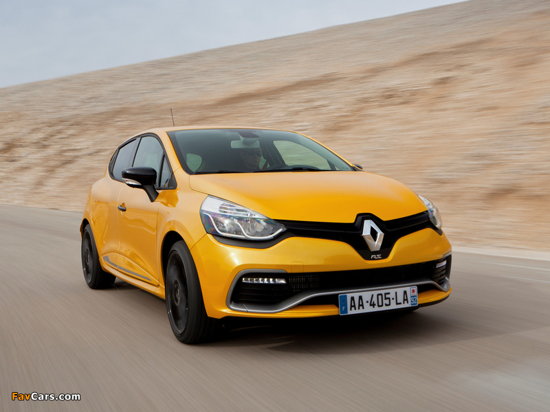 Pictures of Renault Clio R.S. 200 2013 (800 x 600)